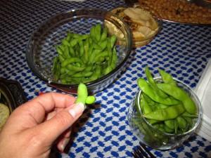 Endamame beans