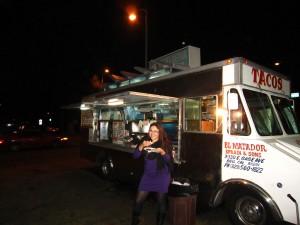 Taco truck dining