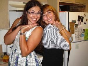Easter hostesses