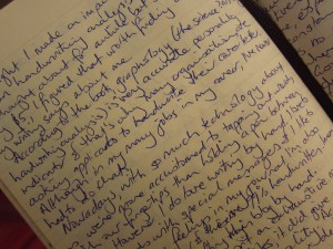 Sample of my handwriting