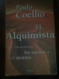 The Alquimist cover, in Spanish