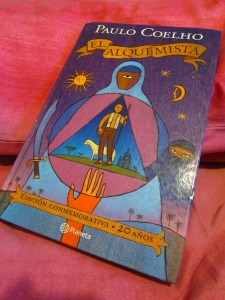 Cover of El Alquimista, the 2oth anniversary edition