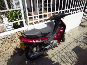 Our new motorbike
