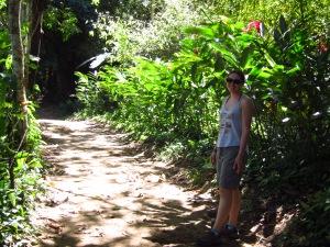 Quebrada Valencia path