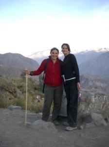 June 2005 - hiking the Colca Canyon in Peru