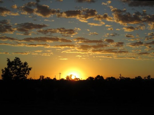 Mildura sunrise