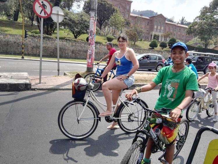 Sunday Ciclovia in Bogota
